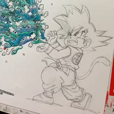 Cool Art Drawings, Art Drawings Sketches, Dbz Drawings, Cartoon Drawing Tutorial, Drawing Tutorials, Drawing Tips, Hand Kunst, Anime Chibi, A Level Art Sketchbook