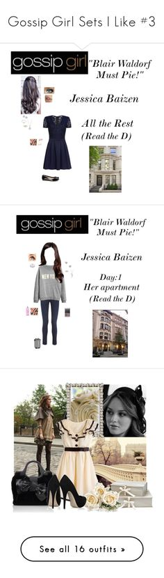"""Gossip Girl Sets I Like #3"" by kelseystan97 ❤ liked on Polyvore featuring A.P.C., Bloomingdale's, Lenox, Judith Leiber, Victoria's Secret, SAM., Forever 21, Calvin Klein, Lauren Ralph Lauren and mark."