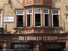 The Crooked Surgeon pub one of my fav. pubs in London