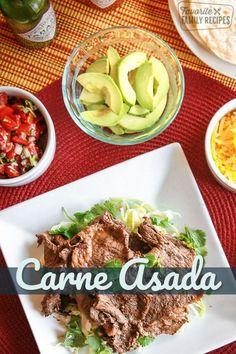I LOVE this Grilled Carne Asada I love it in carne asada burritos tacos breakfast burritos quesadillas over rice the possibilities are endless via favfamilyrecipz Grilling Recipes, Lunch Recipes, Beef Recipes, Dinner Recipes, Easy Recipes, Carne Asada, Quesadillas, Incredible Recipes, Family Meals