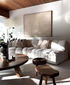 Living Room Interior, Home Living Room, Living Room Designs, Living Room Decor, Living Spaces, Living Room Sofa, Ideas Hogar, Decoration Design, Beautiful Living Rooms