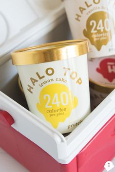 Be the life of the party and bring Halo Top Ice Cream to your next get-together.