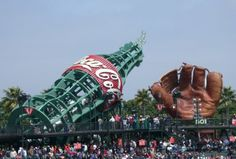 Large Coca-Cola Bottle, SBC Park, San Francisco, California