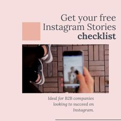 Get your free guide to using Instagram Stories to promote your company's products and service and build your social media marketing strategy. Enjoy learning new social media marketing tips, templates for content ideas and design inspiration from top performing Instagram business accounts.   #b2binstagram #socialmedia #b2bmarketing Free Instagram, Instagram Story, Social Media Content, Social Media Marketing, Design Social, Competitor Analysis, Being Used, Design Inspiration, Templates