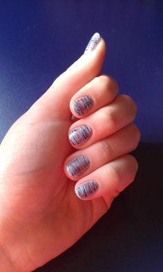 Striped Manicure