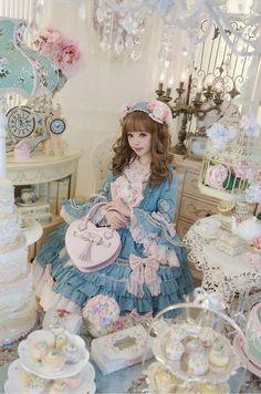 橘玄叶MACX邪恶的小芽 Kawaii and Lolita aesthetic Harajuku Fashion, Japan Fashion, Kawaii Fashion, Cute Fashion, Estilo Lolita, Mode Lolita, Lolita Style, Mode Kawaii, Lolita Cosplay