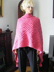 Ravelry: Morocco wrap pattern by Devorgilla's Knitting (sometimes...)