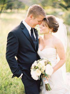 Such a cute wedding shot!