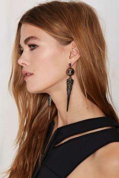Smooth Criminal Spike Earrings - Accessories | Earrings
