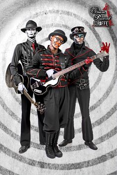Steam Powered Giraffe...I am obsessively in love...thank you Daniel Bell and Annalee Kalyne...just what I need, another obsession...