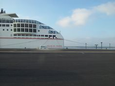 Ferry boat to Canary Islands