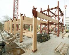Is green building movement enough to revive use of heavy timber for framing in construction?: