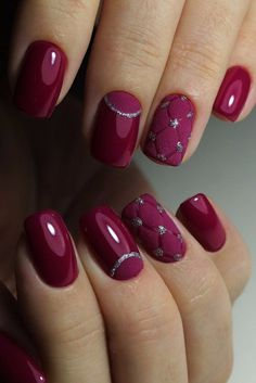 What manicure for what kind of nails? - My Nails Fancy Nails, Trendy Nails, Cute Nails, My Nails, Gold Nails, Pretty Nail Designs, Colorful Nail Designs, Gel Nail Designs, Nails Design