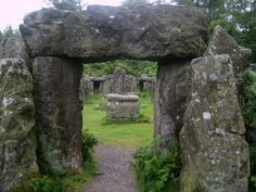 At Ilton, North Yorkshire, is the Druid temple folly, created in the century by William Danby of nearby Swinton Hall to provide work for the unemployed. Yorkshire Dales, North Yorkshire, Stonehenge, Ancient Ruins, British Isles, Places To See, Countryside, Beautiful Places, Scenery