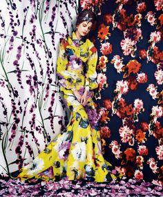 Fashion Show: Prints of the Season   US Harper's Bazaar March 2014