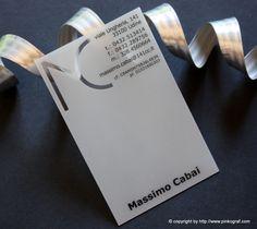 clear plastic business cards - biglietti da visita architetto PVC trasparente