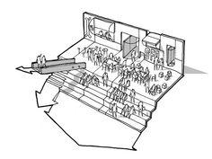 Escola Primária e Centro Familiar Mesterfjellet,Desenho 1
