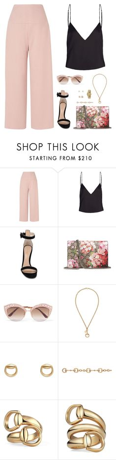 """""""Sin título #4761"""" by mdmsb on Polyvore featuring moda, L.K.Bennett, Gianvito Rossi y Gucci"""