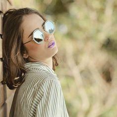 Vagati Eyewear (@vagatieyewear) • FREYA -THE FIERCE AMOUNT OF ENERGY- BY VAGATI.  SUNGLASSES/EYEWEAR BRAND.  CARRY YOUR MOOD AROUND   WWW.VAGATI.CH▪️▪️ #byvagati #vagatieyewear #carryyourmoodaround #freya #hexegonal #shape #roundframe #round #sunglasses #sunglassesfashion #fashionable #trendy #style #eyewear #eyewearfashion #eyewearstyle #sunglasseslover #spectacles #shades #timeless #shades #vagati Round Sunglasses, Mirrored Sunglasses, Trendy Style, Eyewear, Shades, Fashion, Moda, Style Fashion, Eyeglasses