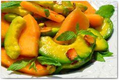 Салат из дыни и авокадо_00