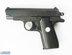Softair Pistole Metall Federdruck G2 Black Metal Gun