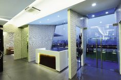 Office Design: Pune based architects Anjali & Ashwin Lovekar were briefed with designing the corporate offices of real estate company Rainbow Housing. Visit www.insideoutside.in for more