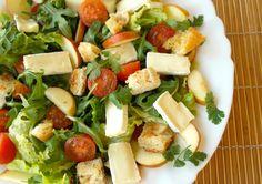 Salada Leve Com Queijo Brie Da Président