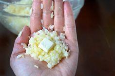 Arancini (Rice Balls) with Marinara Sauce | http://www.justataste.com/arancini-rice-balls-with-marinara-sauce/