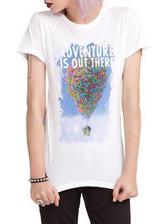 Disney Up Adventure Girls T-Shirt,