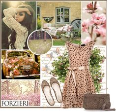 """""""secret garden with forzieri"""" by lifestyle-ala-grace ❤ liked on Polyvore"""