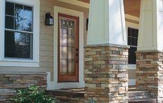 Oak Park front door by HomeStory.  #Doors #FrontDoor #HomeRemodeling