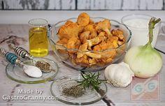 Hozzávalók-Rókagomba mártás Shrimp, Dairy, Cheese, Food, Bulgur, Essen, Meals, Yemek, Eten