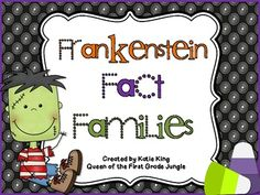 Frankenstein Fact Families Freebie
