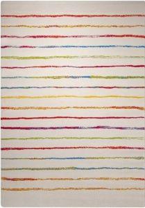 Dětský koberec Esprit Veselý proužek bílá