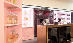 Chanel make-up counter
