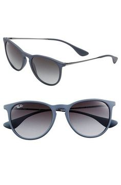 Ray-Ban 'Wayfarer' Sunglasses from Nordstrom. Saved to Adorable Accessories. Ray Ban Sunglasses Outlet, Ray Ban Outlet, Stylish Sunglasses, Sunglasses Accessories, Cat Eye Sunglasses, Mirrored Sunglasses, Sunglasses Women, Trending Sunglasses, Ray Ban Wayfarer