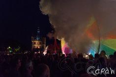 Compagnie Off op de brink Compagnie Off, Les Roues De Couleurs, kleuren, rad, dansparade, Deventer Op Stelten, DOS14, Deventer Op Stelten 2014