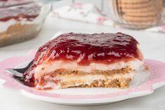 Γλυκό ψυγείου με μπισκότα και γιαούρτι (VIDEO) Delicious Desserts, Dessert Recipes, Greek Cooking, How Sweet Eats, Greek Yogurt, Yummy Cakes, Tiramisu, Sugar Free, Cheesecake