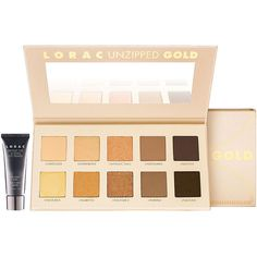 LORAC Unzipped Gold Palette 1 ea ($42) ❤ liked on Polyvore