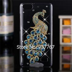 Mewah 3d kasus Untuk Huawei Honor 4C, kristal Bling Kasus Berlian Imitasi Penutup Untuk Huawei Honor 4C penutup