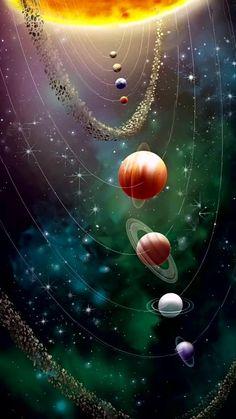 Wallpaper Earth, Planets Wallpaper, Wallpaper Space, Mobile Wallpaper, Cute Galaxy Wallpaper, Hd Wallpaper Android, Print Wallpaper, Flower Wallpaper, Space Planets
