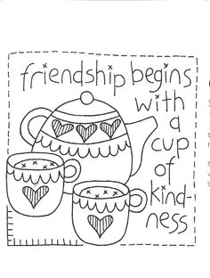 friends & tea.