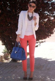 Pantalón coral