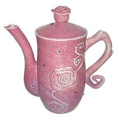 Disney Teapot - Sleeping Beauty - Rose - Ceramic Teapot