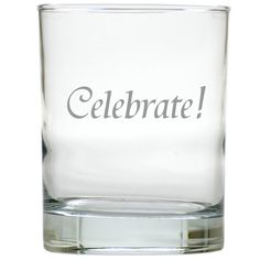 No matter if you are celebrating a holiday, a birthday or just because the day ends in 'y', these glasses are perfect for any celebration.