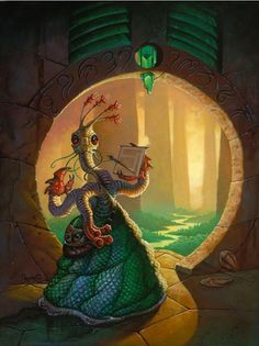 The Great Race of Yith are fictional aliens in the Cthulhu Mythos of H. Lovecraft Cthulhu, Hp Lovecraft, Science Fiction, Call Of Cthulhu Rpg, Cthulhu Art, Yog Sothoth, Lovecraftian Horror, The Great Race, Eldritch Horror
