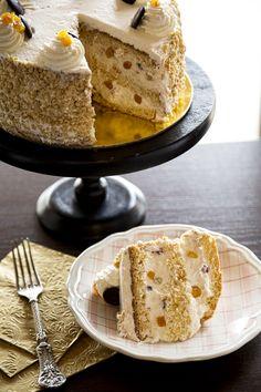 Oroszkrém torta Vanilla Cake, Food, Essen, Meals, Yemek, Eten
