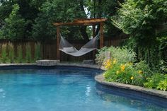 Beauty through landscape. Gib - San Pools Ltd. - traditional - pool - toronto - Gib-San Pools Ltd.