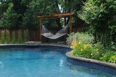 Beauty through landscape. Gib - San Pools Ltd. - traditional - pool - toronto - Gib-San Pools Ltd.