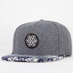 HURLEY Seasons Greetings Mens Snapback Hat